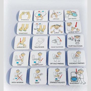 Obrázek Magnetické kartičky – Hygiena 2