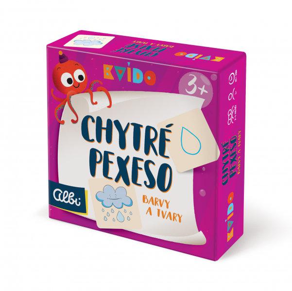 Obrázek Kvído - Chytré pexeso - barvy a tvary