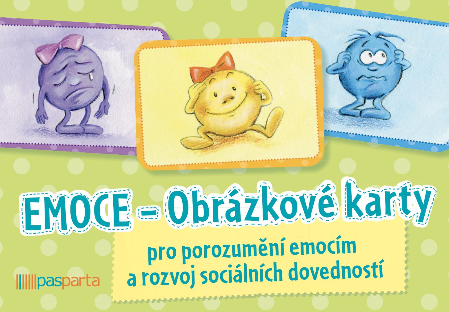 Obrázek Obrázkové karty - Emoce