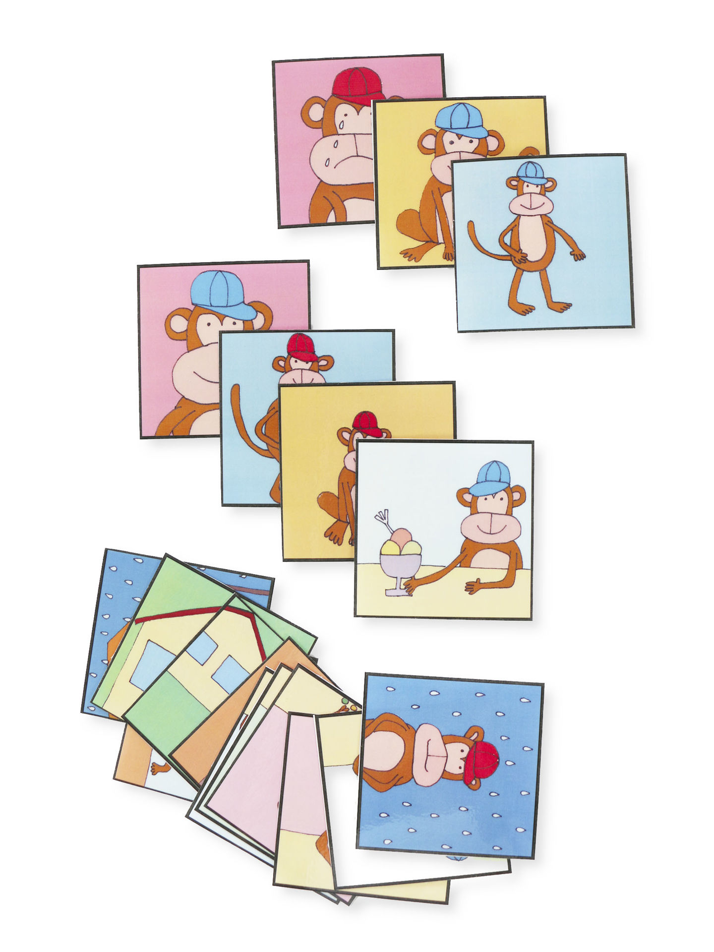 Obrázek Protiklady s opičkou