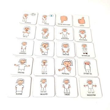 Obrázek Magnetické kartičky – Emoce