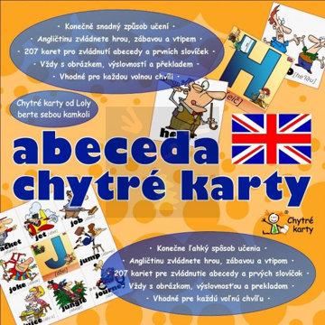 Obrázek Chytré karty Angličtina abeceda