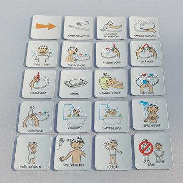 Obrázek Magnetické kartičky – Hygiena 1