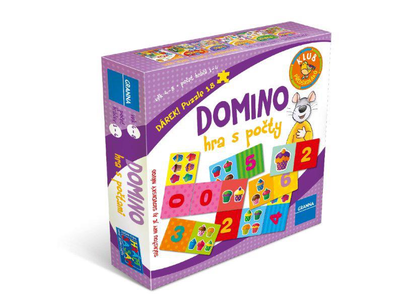Obrázek DOMINO - hra s počty