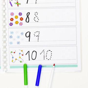 Obrázek Učíme se psát - Číslice