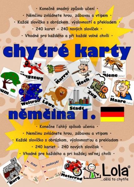 Obrázek Chytré karty Němčina I.