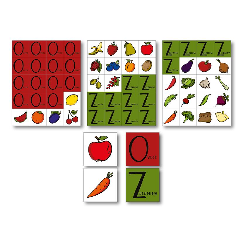 Obrázek Vzdělávací kartičkové hry 3