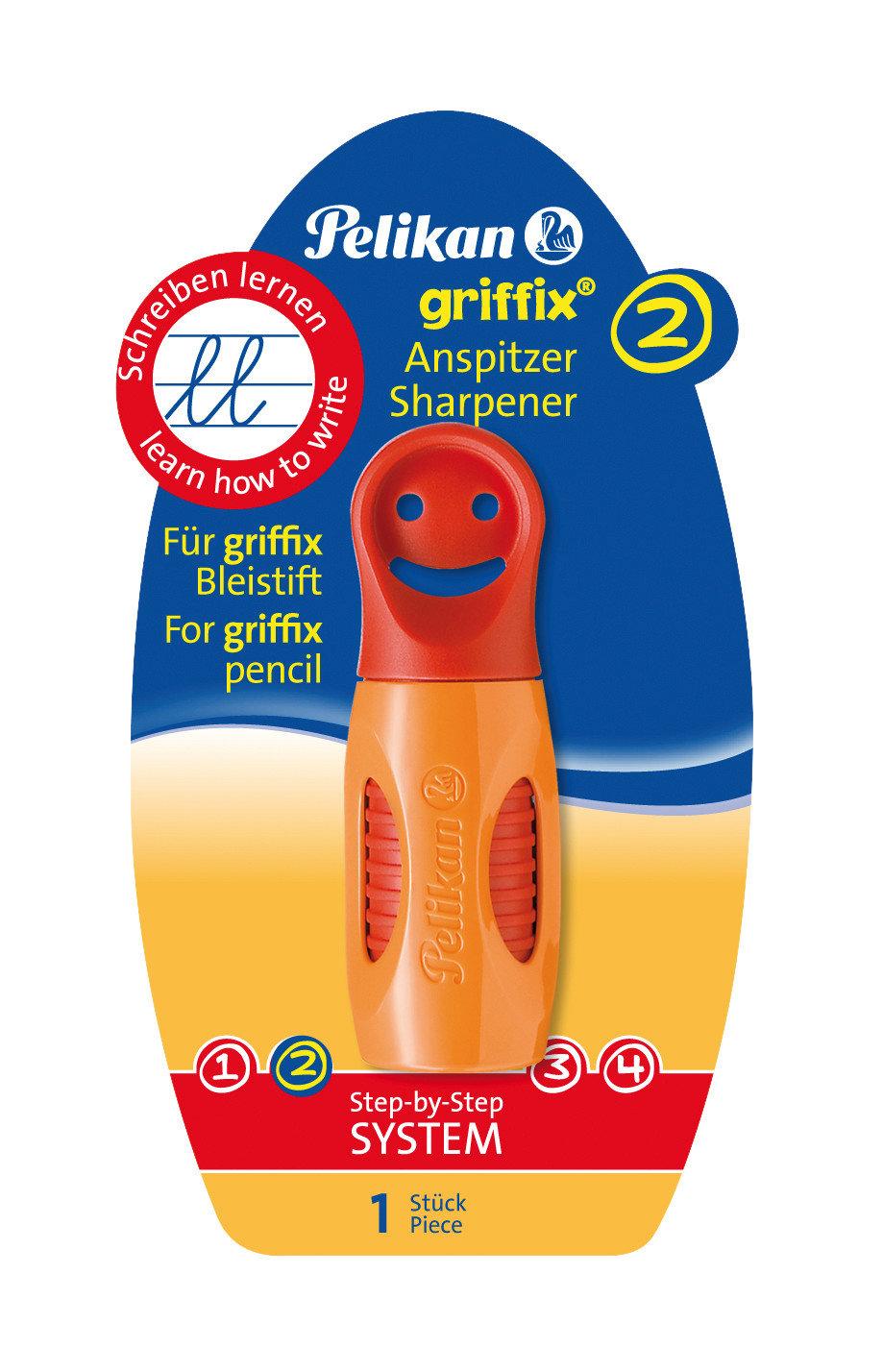 Obrázek Ořezávátko Griffix, oranžové