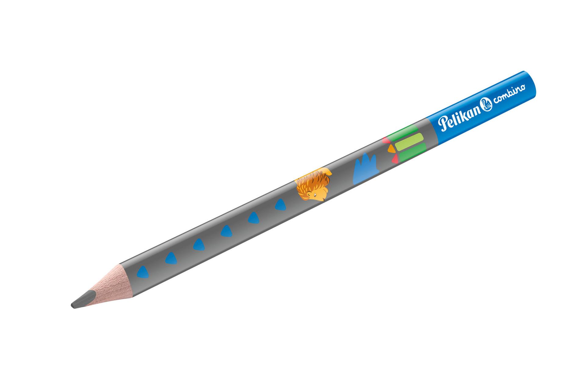 Obrázek Tužka trojhranná, silná, modrá