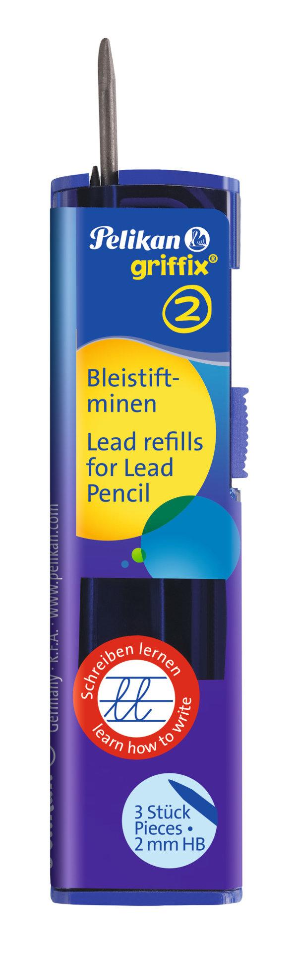Obrázek Tuhy do tužky Griffix 2, 3 ks