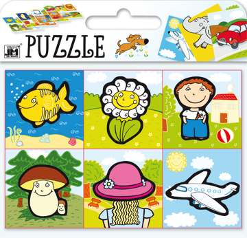 Obrázek Puzzle - Co kam patří?