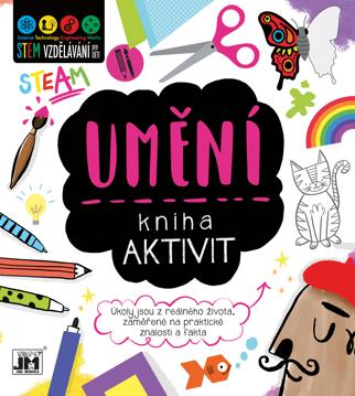 Obrázek Umění - kniha aktivit STEM
