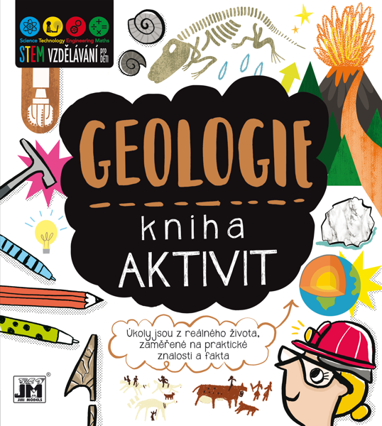 Obrázek Geologie - kniha aktivit STEM