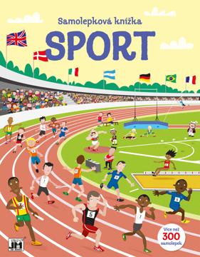 Obrázek Sport - velká samolepková knížka