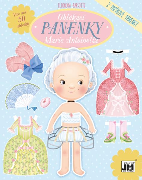 Obrázek Oblékací panenky Marie Antoinette