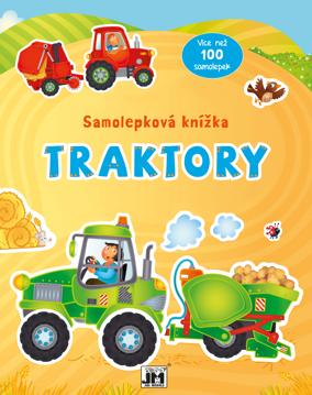 Obrázek Traktory - samolepková knížka