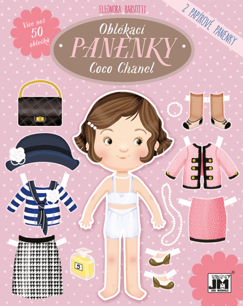 Obrázek Oblékací panenky Coco Chanel