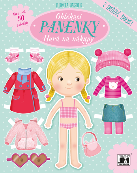 Obrázek Oblékací panenky Hurá na nákupy