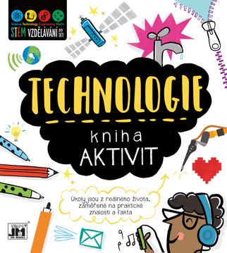 Obrázek Technologie - kniha aktivit STEM