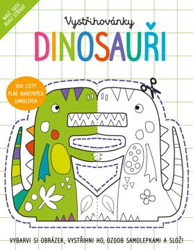 Obrázek Vystřihovánky Dinosauři
