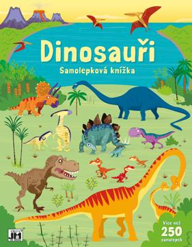 Obrázek Dinosauři - velká samolepková knížka