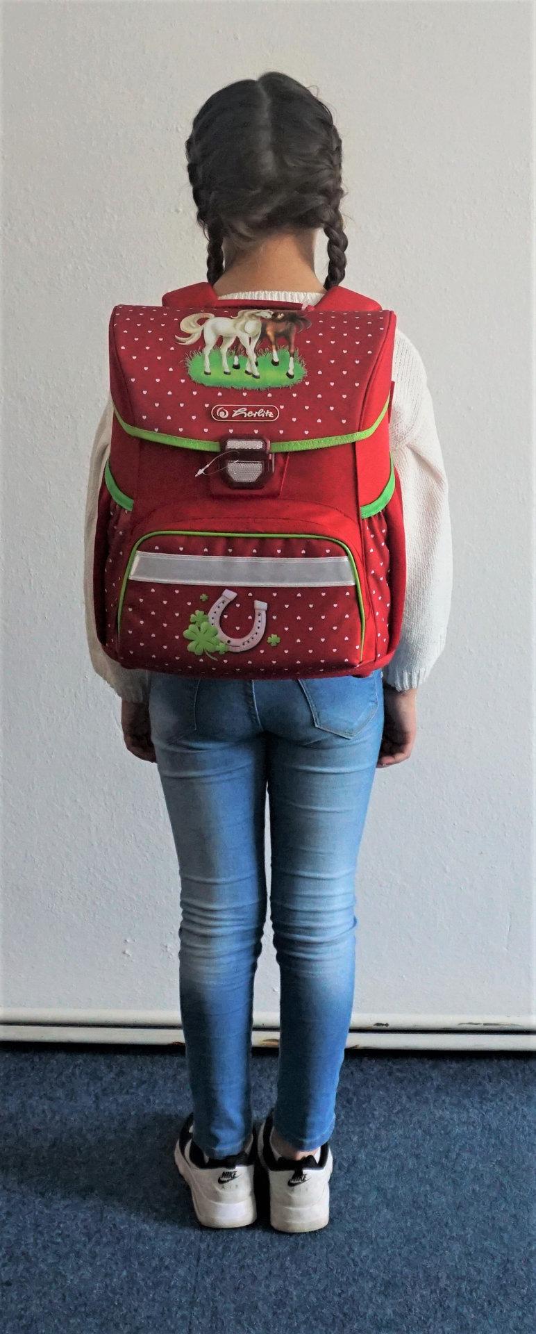 Obrázek Školní taška Loop Kůň