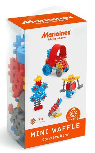 Obrázek Marioinex MINI WAFLE – 70 ks Konstruktér (chlapci)
