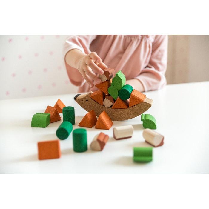 Obrázek Balanční hračka JEŽEK NA ZAHRADĚ