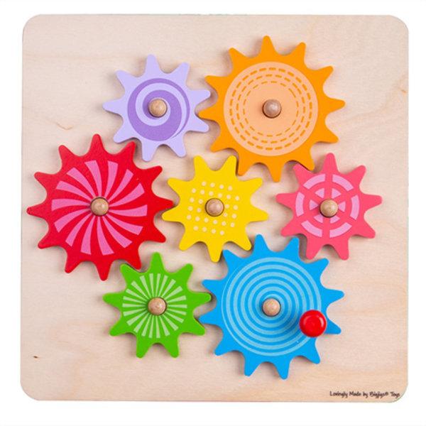 Obrázek Bigjigs Toys Ozubená kolečka