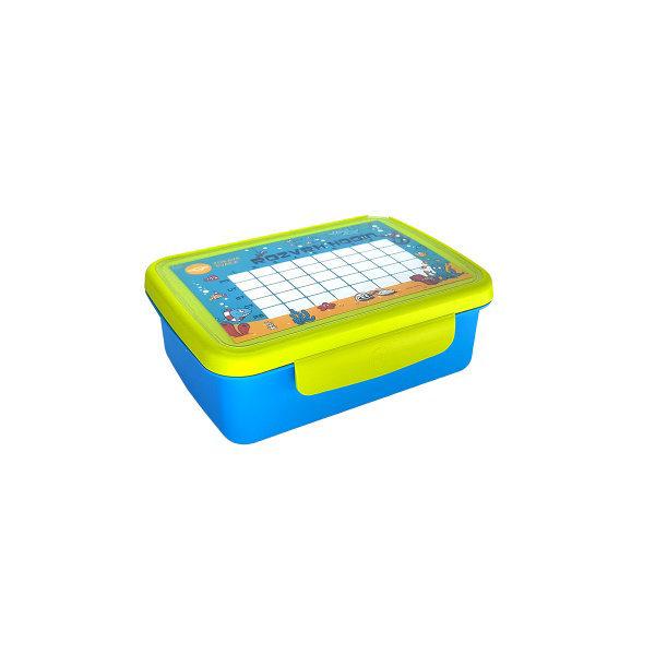 Obrázek Zdravá sváča komplet box modrá/zelená