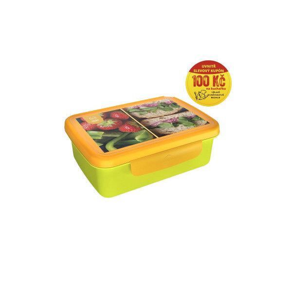 Obrázek Zdravá sváča Recepty zelená/žlutá
