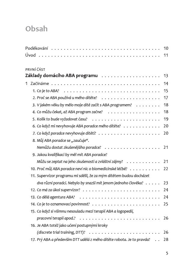 Obrázek ABA pro děti s autismem