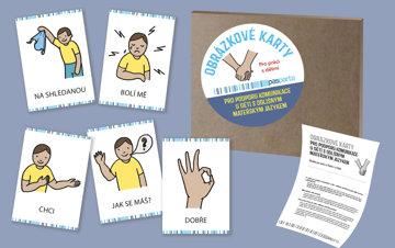 Obrázek Obrázkové karty pro podporu komunikace u dětí s odlišným mateřským jazykem