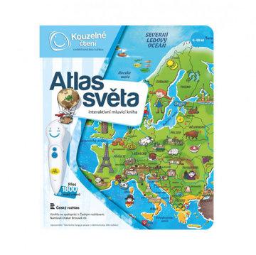 Obrázek Kouzelné čtení - Kniha Atlas světa