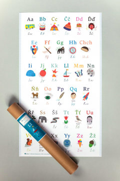 Obrázek Plakát s českou abecedou