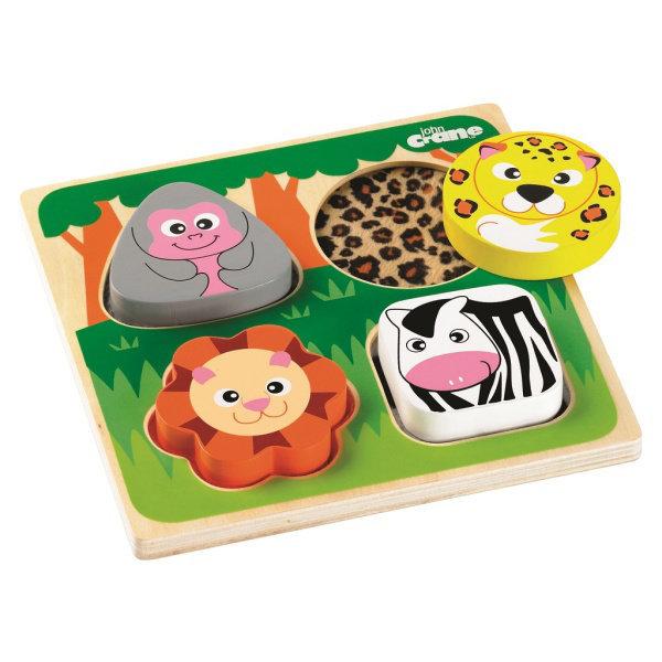 Obrázek Tidlo Senzorické puzzle safari
