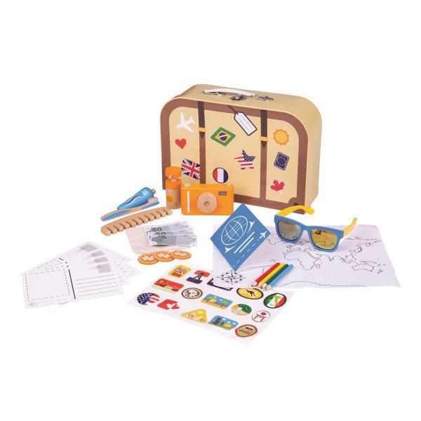 Obrázek Bigjigs Toys Prázdninový kufřík