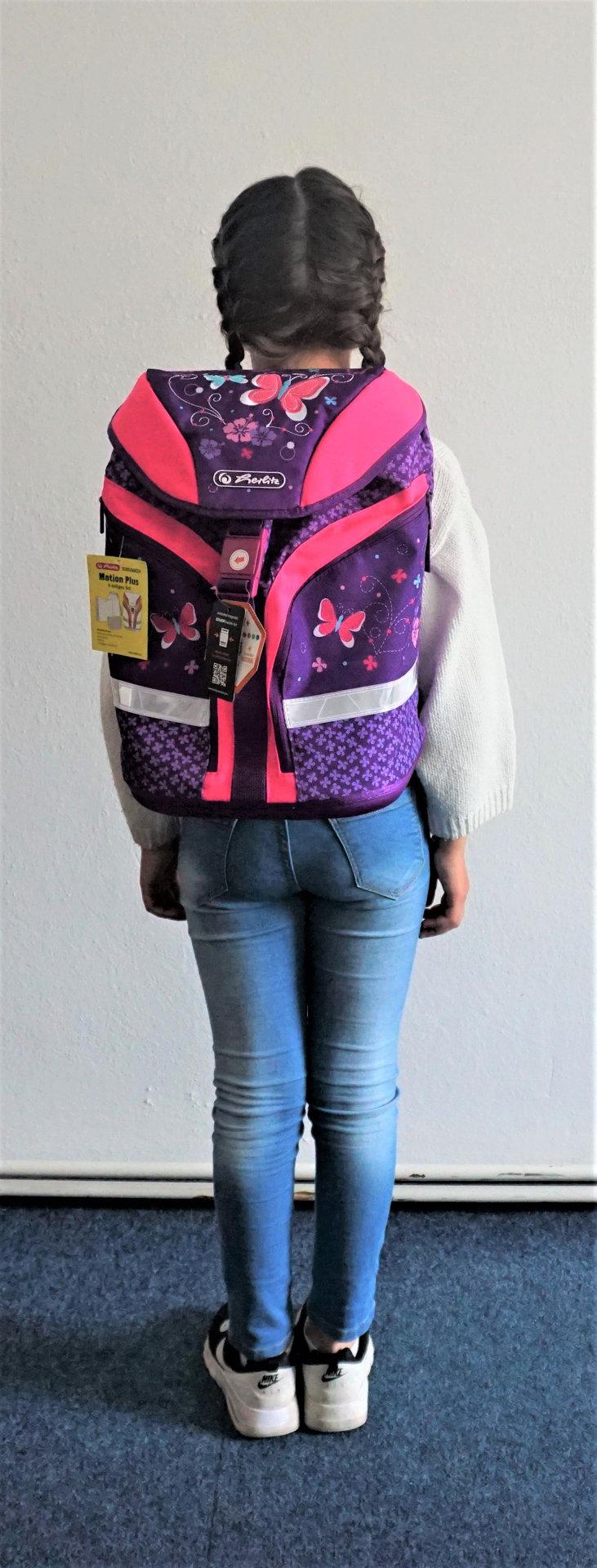 Obrázek Školní batoh motion Motýl