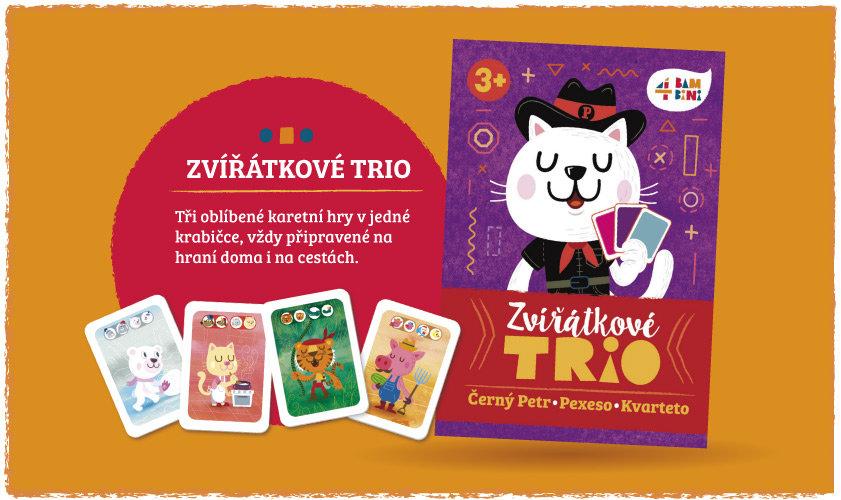 Obrázek Zvířátkové trio