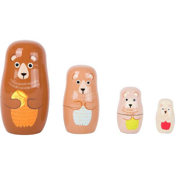 Obrázek Small Foot Matrjoška medvědí rodina