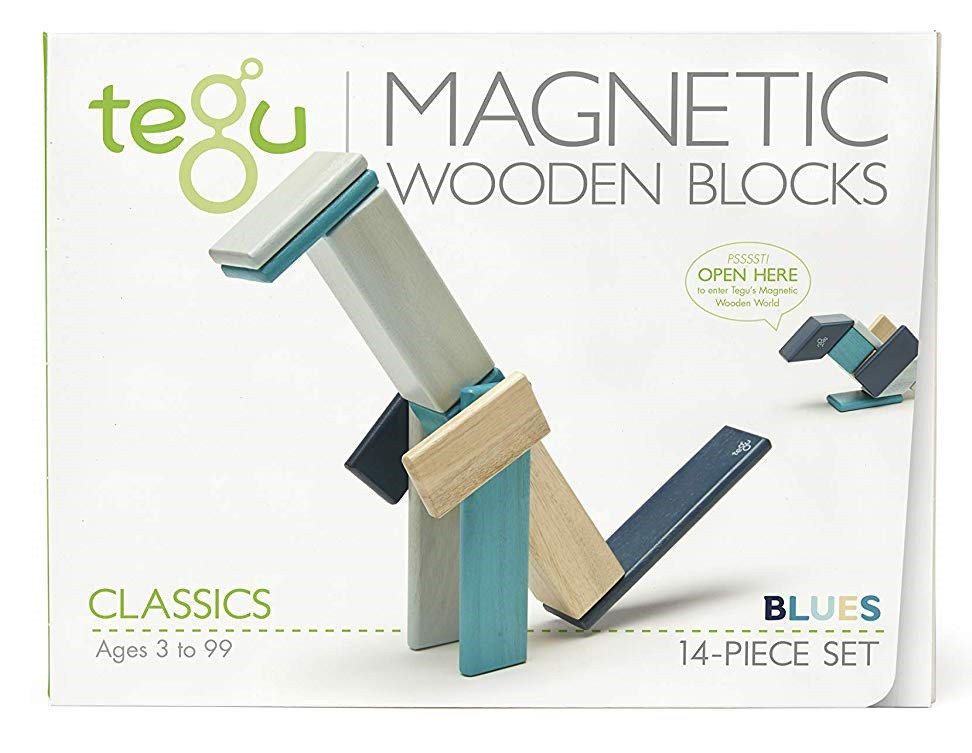 Obrázek Magnetická stavebnice TEGU Blues - 14 dílů