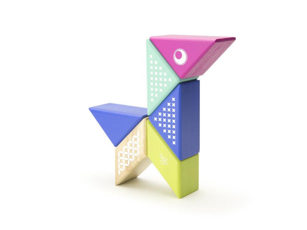 Obrázek Magnetická stavebnice TEGU na cesty - Kolibřík