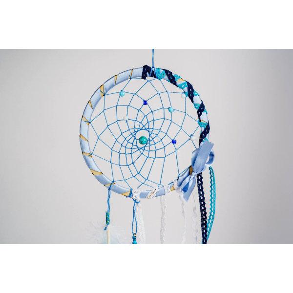 Obrázek Lapač snů (modrá + bílá)