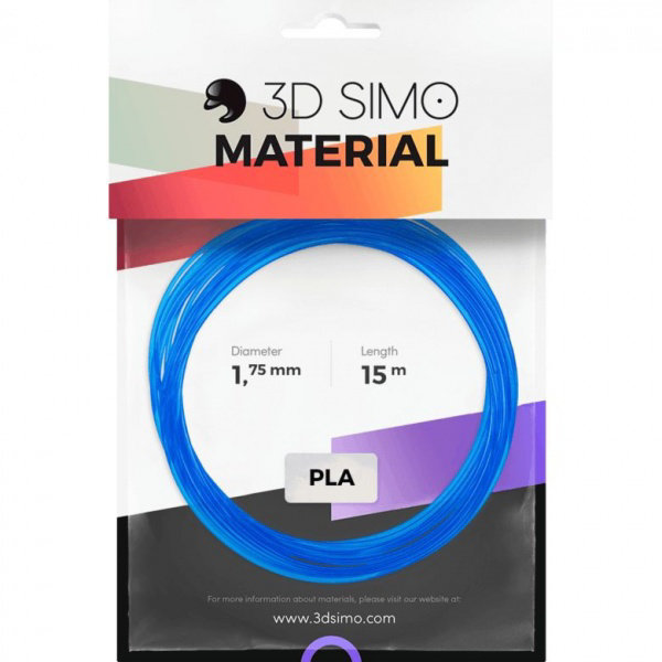 Obrázek Filament PLA Transparent (MultiPro/KIT) - 15m