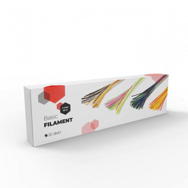 Obrázek Filament 60m (Basic)- PCL různé barvy (4 tuby)