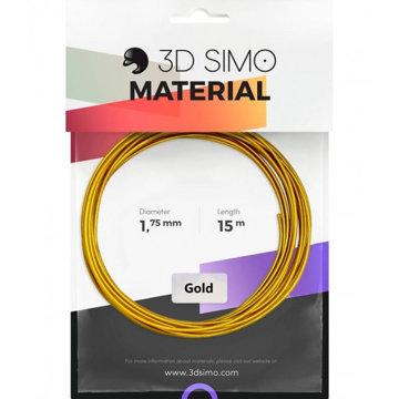 Obrázek Filament REAL GOLD (MultiPro/KIT) - 15m