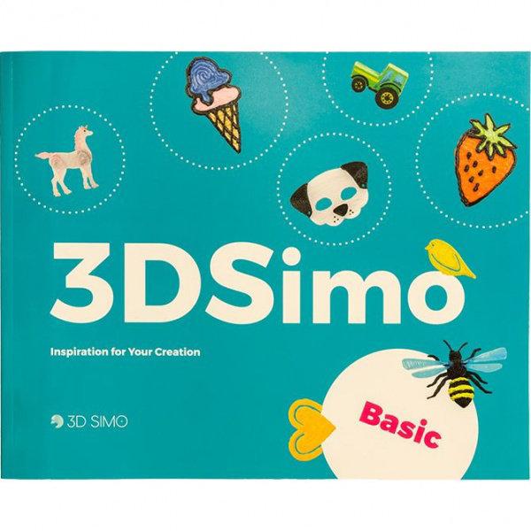 Obrázek 3DSimo Kniha pro 3D pera - základní (anglicky)