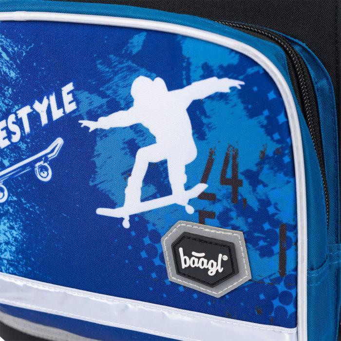 Obrázek Školní aktovka Ergo Skateboard