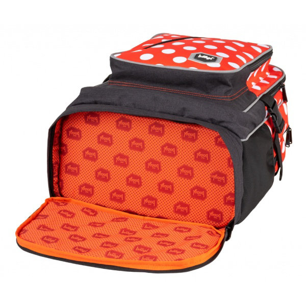 Obrázek SET 3 Cubic Puntíky: batoh, penál, sáček