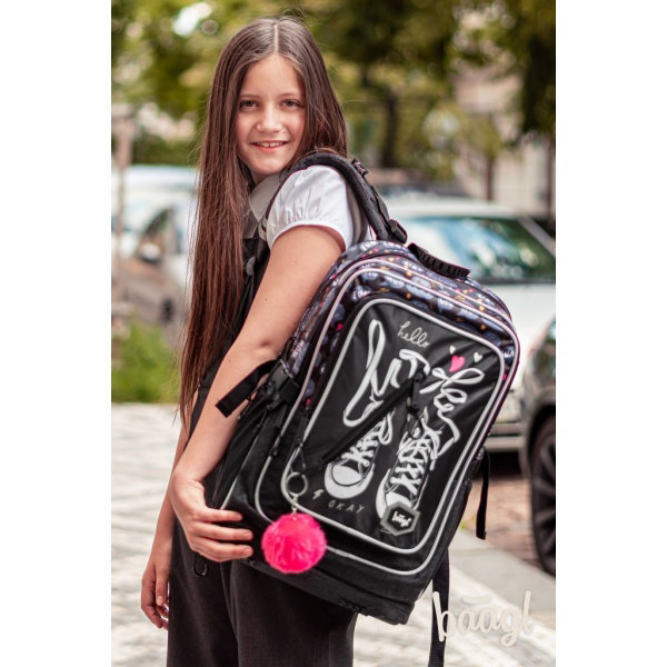 Obrázek Školní batoh Cubic Tenisky